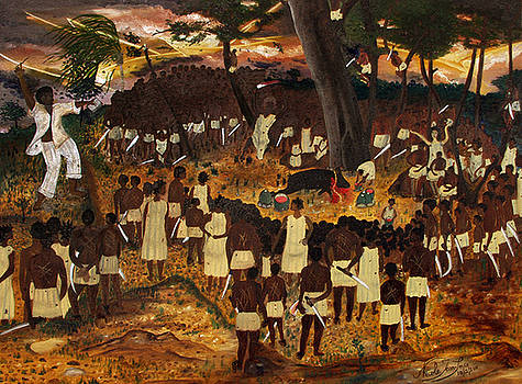 Bwa Kayiman Haiti 1791 by Nicole Jean-Louis