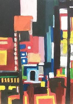 Bway at 46th by Ron Erickson