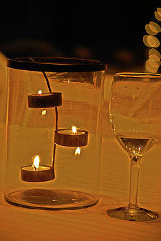 By Candle Light by Peter  McIntosh