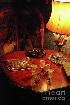 By lamplight by Richard Gibb