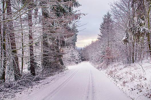 Jenny Rainbow - By Snowy Road