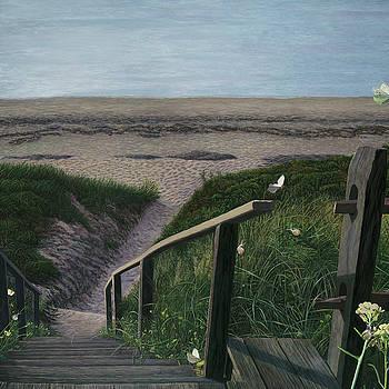 By the Beach by Lisa Jeanne Graf