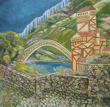 By The Bridge by John Keaton