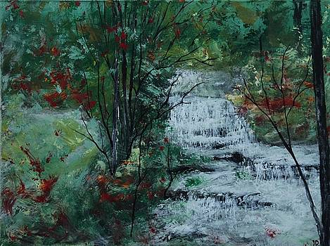 By the Falls by Joanna Deritis