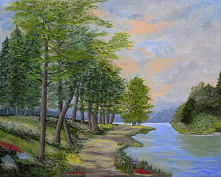 By the Lake by Connie Spencer