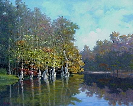 By the Old Mill Stream by Jim Stratton