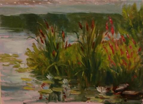 By the Pond by Tom Martino