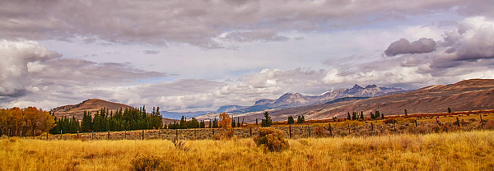 By the Road in Wyoming by Eneida Gastal-Keith