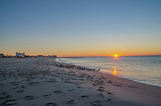 By the Sea - Cape May Sunrise by Bill Cannon