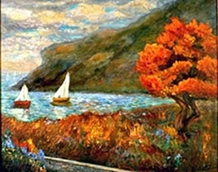 By The Sea by Gail Kirtz
