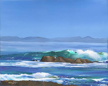 By the sea by Glen Frear