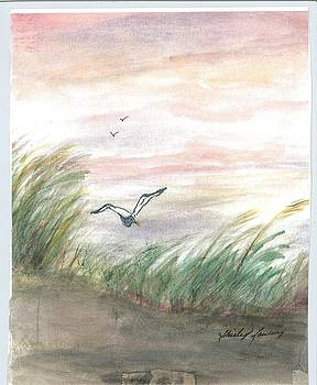 By the Shore by Shirley Lawing