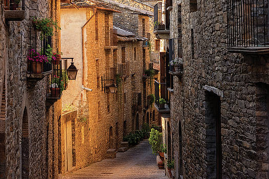 By the town of Ainsa in the province of Huesca by Vicen Photography