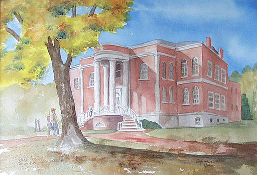 Byars Hall, Emory and Henry College by Jim Stovall