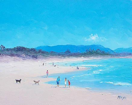 Jan Matson - Byron Bay beach morning