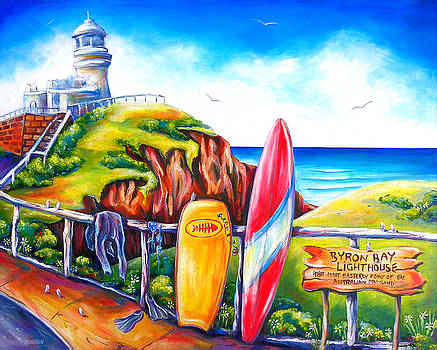 Byron Bay Lighthouse by Deb Broughton