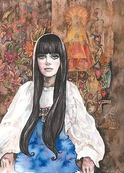 Byzantine Madonna by Kim Whitton