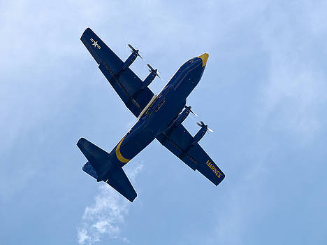 C-130 Over My Head by Bessie Reyes