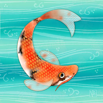 C is for Cal the Curious Carp by Valerie Drake Lesiak