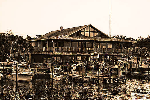 C Quarters Carrabelle Florida by Frank Feliciano