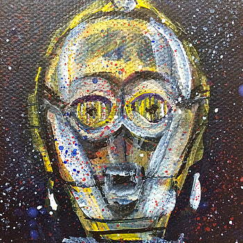 C3po by Mary Gallagher-Stout