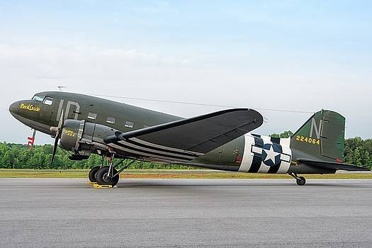 C47 in Profile by Chris Buff