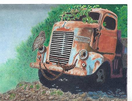 Cab Over Engine C.O.E.with Nest by Jolene Stinson Williams