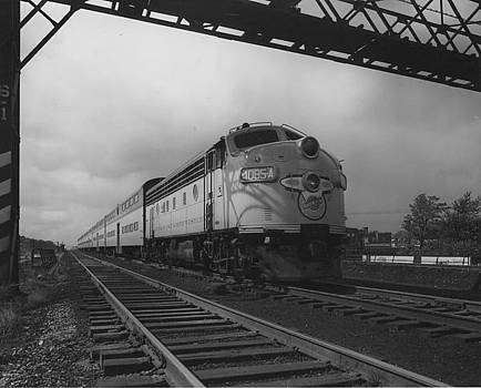 Chicago and North Western Historical Society - Locomotive 4085A - 1959