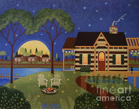Cabin by the Lake by Mary Charles