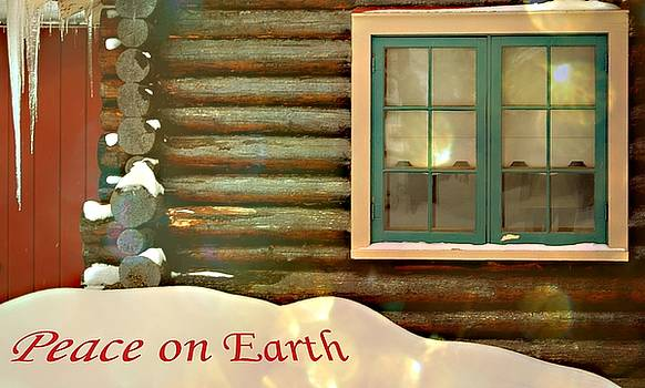 Marysue Ryan - Cabin Greeting card