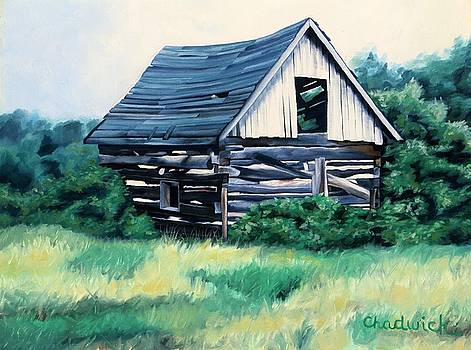 Cabin in the Clearing by Phil Chadwick