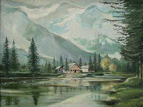Cabin In The Valley by Charles Roy Smith