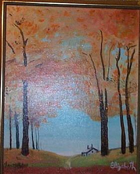 Cabin in the Woods by Elizabeth A Gawronski