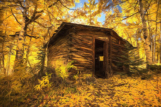 Cabin in the Woods by Joe Sparks