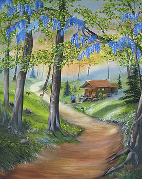 Cabin In The Woods by RJ McNall