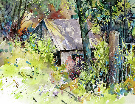 Cabin Seclusion by Rae Andrews