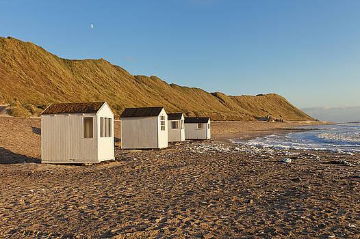 Cabins by the beach by Mike Santis