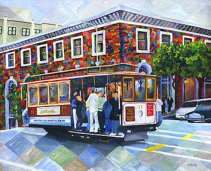 Cable Car Ride by Colleen Ward