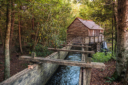 Cable Grist Mill by Cathie Crow