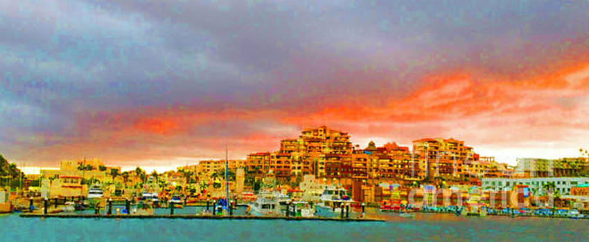Cabo San Lucas at Dusk by Kathy Kelly