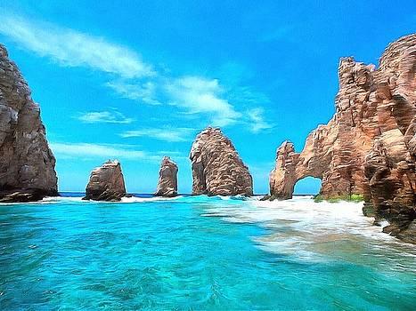 Cabo San Lucas Mexico by Maciek Froncisz
