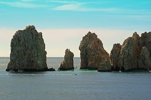 Cabo San Lucas Rocks by Robert Rodda