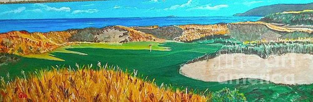 Cabot Cliffs by Frank Giordano