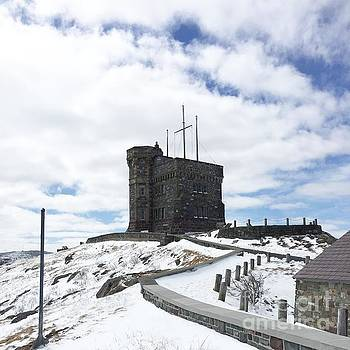 Cabot Tower Signal Hill St. John's NL by Barbara Griffin