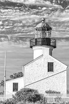 Cabrillo Lighthouse 2 BW by Rob Nelms