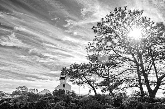 Cabrillo Lighthouse 3 BW by Rob Nelms
