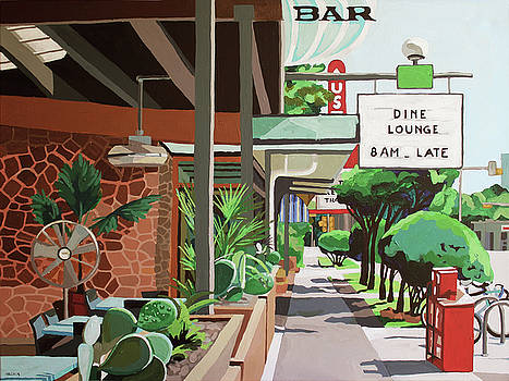 Cactus Cafe by Melinda Patrick