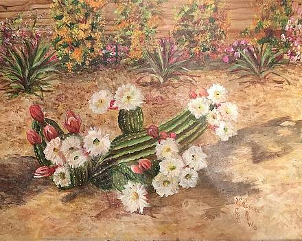 Cactus Garden by Charme Curtin
