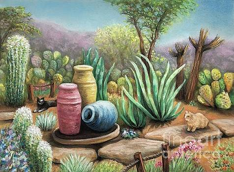 Cactus Garden by Wendy Koehrsen