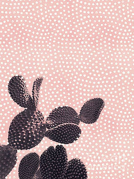 Cactus with Polka Dots by Emanuela Carratoni